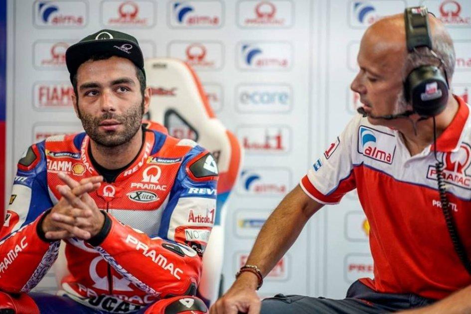 """MotoGP: Petrucci: """"Contento del risultato, ma non del distacco"""""""