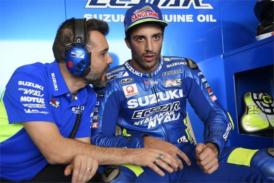 MotoGP: Iannone: correre dopo la Moto2 penalizza la Suzuki