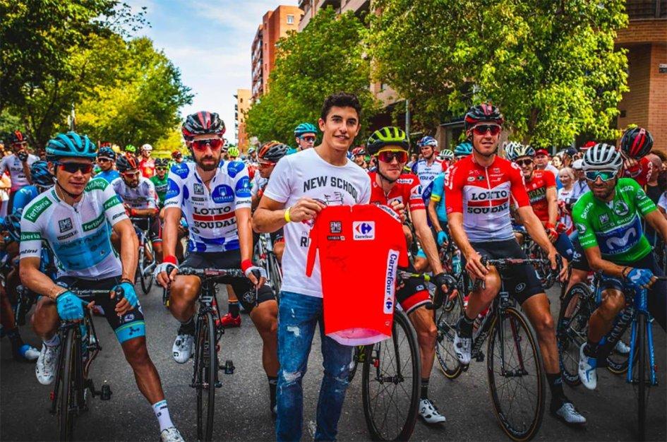 MotoGP: Marc Marquez saluta gli 'animali' della Vuelta