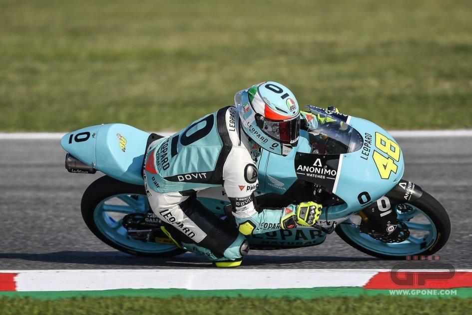 Moto3: La prima volta di Dalla Porta, a terra Bezzecchi
