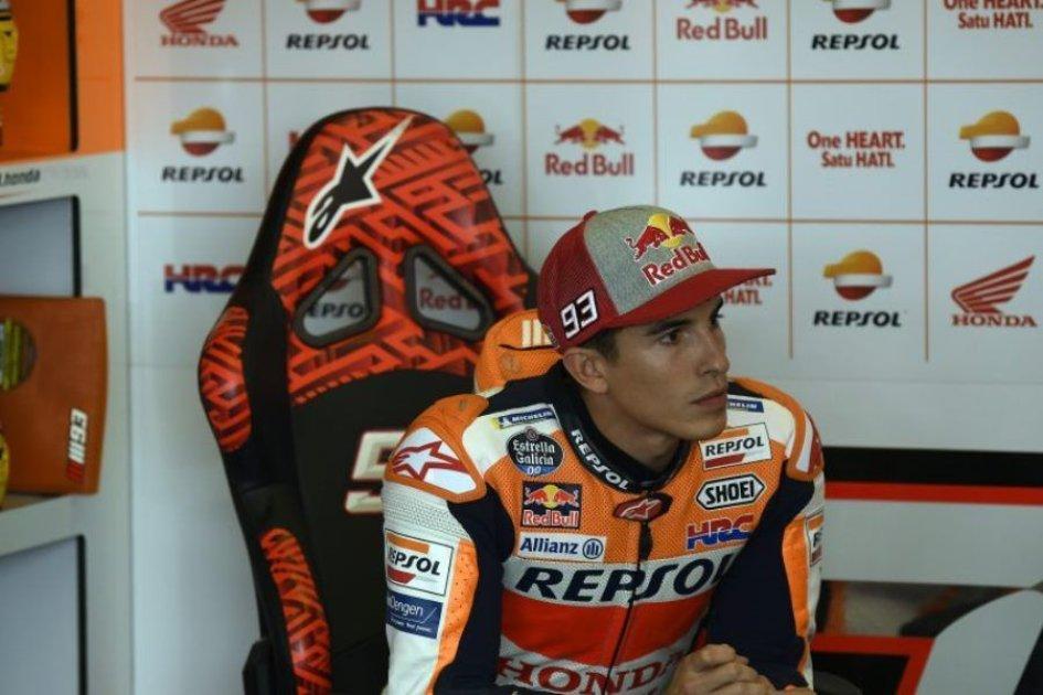 """MotoGP: Usain Marquez: """"Ho fatto il giro con un sassolino nell'occhio"""""""
