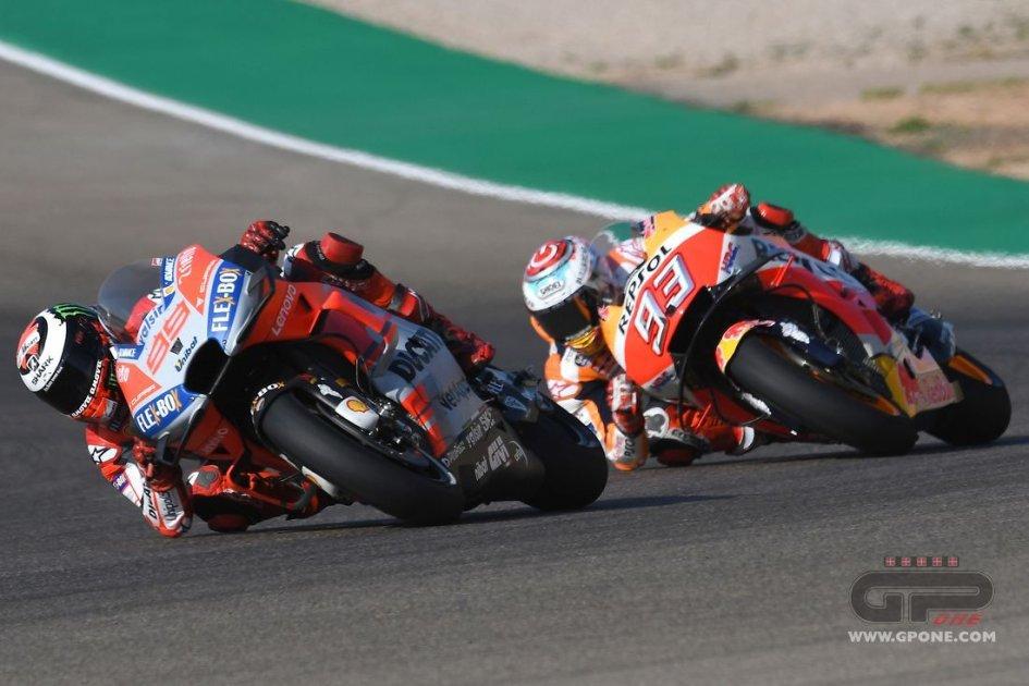 """MotoGP: Lorenzo: """"superare Marquez alla sua curva? Non è da me"""""""