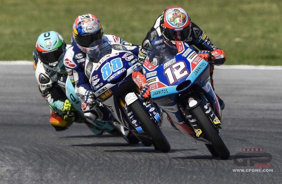"""Moto3: Martin: """"Oggi tutti correvano contro di me"""""""