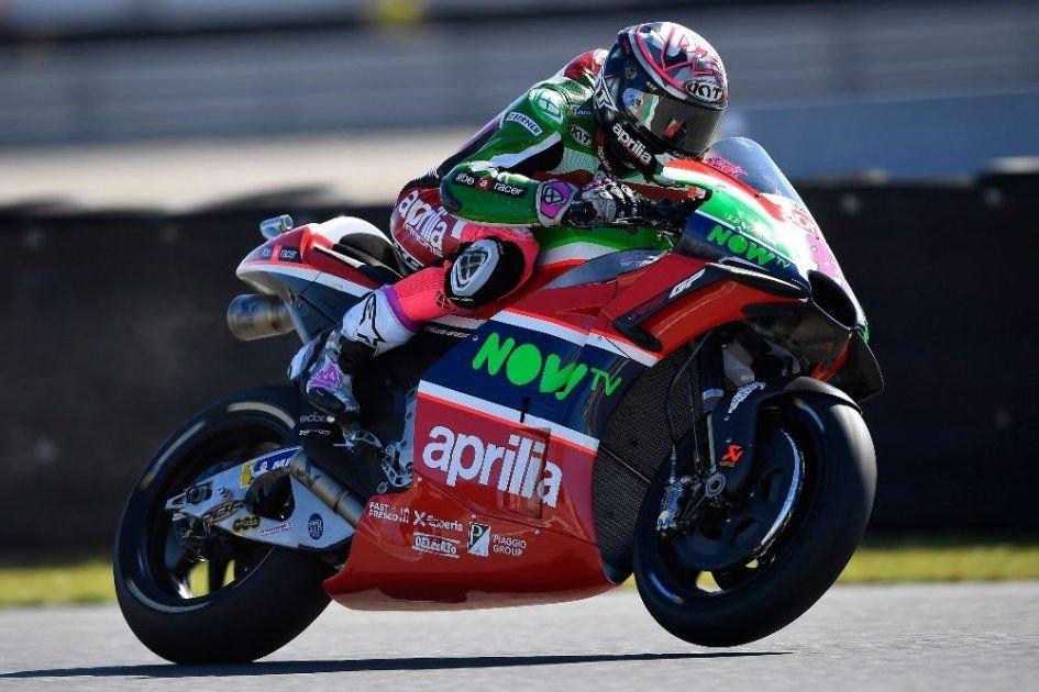 "MotoGP: A. Espargarò: ""Aprilia attenta, non facciamoci ingannare"""