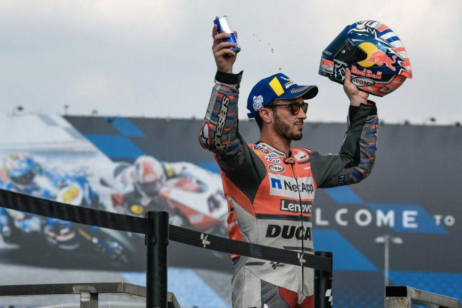 """MotoGP: Dovizioso: """"Battuto da Marc, ma sono soddisfatto"""""""