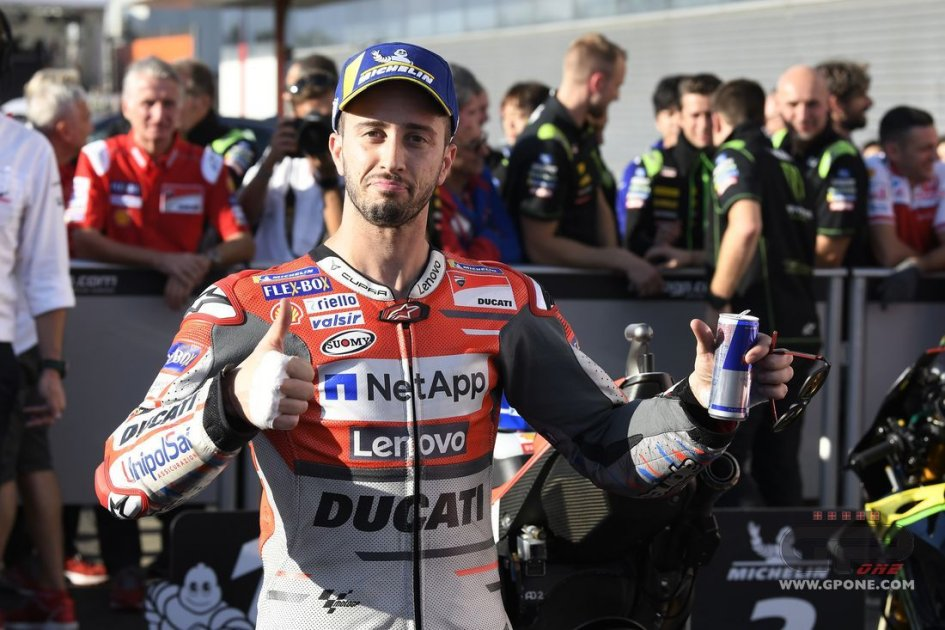 "MotoGP: Dovizioso: ""Marquez won't think about the title, just winning the race"""