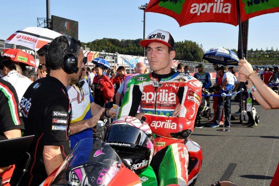 "MotoGP: A. Espargarò: ""L'Aprilia era impossibile da guidare"""