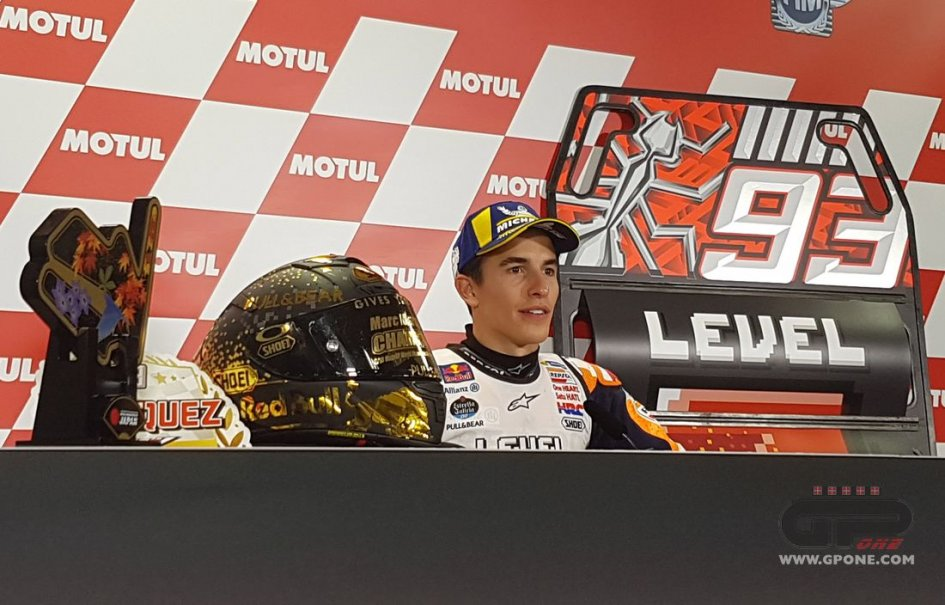 "MotoGP: Marquez: ""Third title at Motegi? They need to give me a bigger prize"""