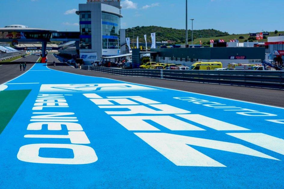 Moto2: Test Jerez: Lowes il migliore, Marini insegue