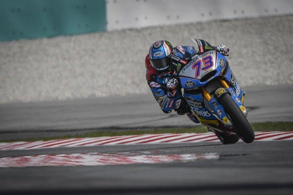 Moto2: FP1: Alex Marquez svetta a Sepang, 3° Bagnaia