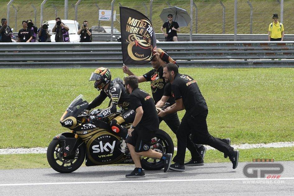 """Moto2: Bagnaia: """"Per questo Mondiale mi si era chiuso lo stomaco"""""""