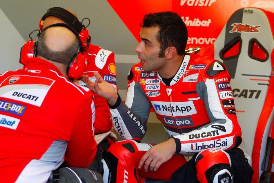 MotoGP: Petrucci: non ho pensato al tempo, eppure sono primo!