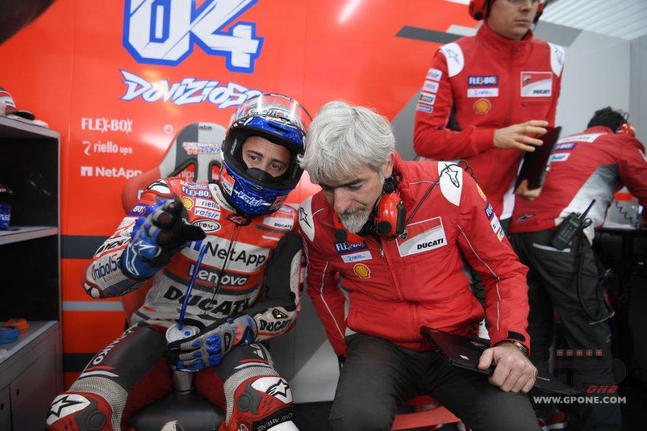 """MotoGP: Dovizioso: """"Per la gara sono ottimista a metà"""""""
