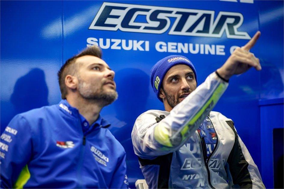 """MotoGP: Iannone: """"Alla Suzuki non servono grandi cambiamenti con la pioggia"""""""