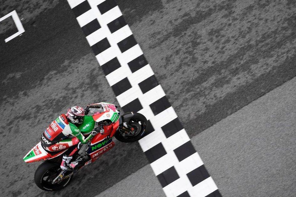 """MotoGP: A. Espargarò: """"Aprilia ha mostrato segnali incoraggianti per Valencia"""""""