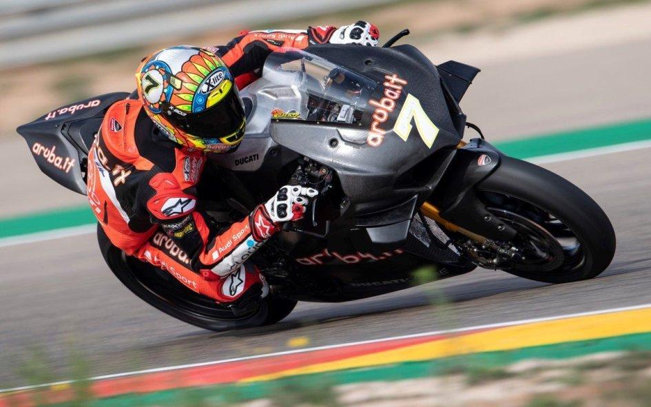 SBK: Aragon: buon debutto per la Panigale V4R
