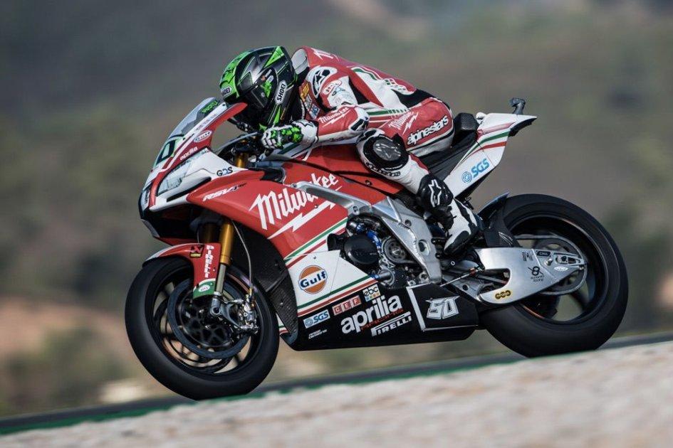 SBK: Sorpresa! Tre team in lizza per l'Aprilia in Superbike