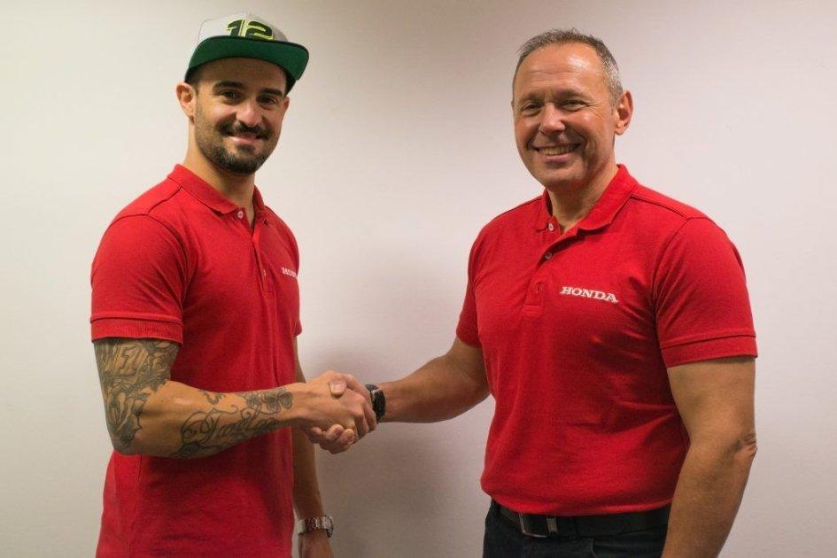 SBK: Forés ingaggiato da Honda Racing nel BSB per il 2019