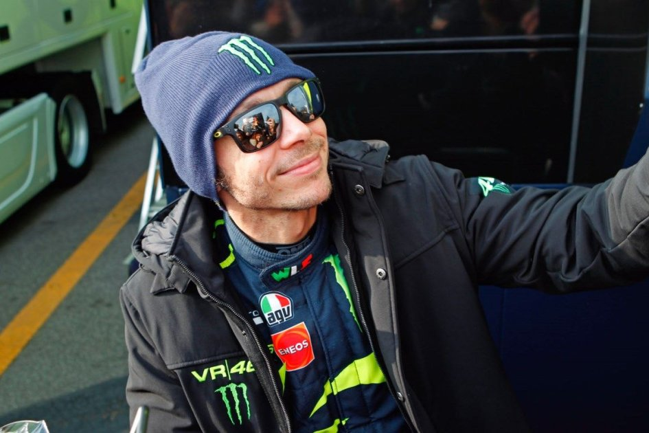 """MotoGP: Rossi: """"The Fiesta holds you to the seat, but the Yamaha is quicker"""""""