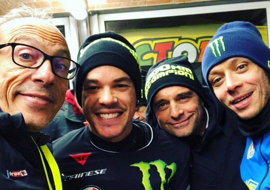 """MotoGP: Rossi-Morbidelli contro tutti alla """"100KM dei Campioni"""""""