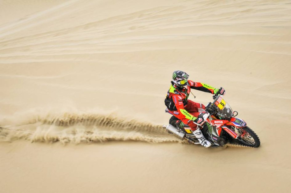 Dakar: Barreda e la Honda brillano nella 1^ tappa, 37° Gerini