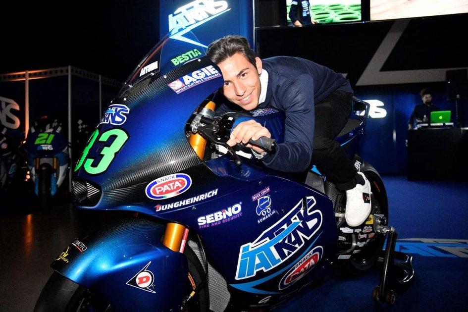 """Moto2: Bastianini: """"Ho studiato Bagnaia per essere pronto alla categoria"""""""