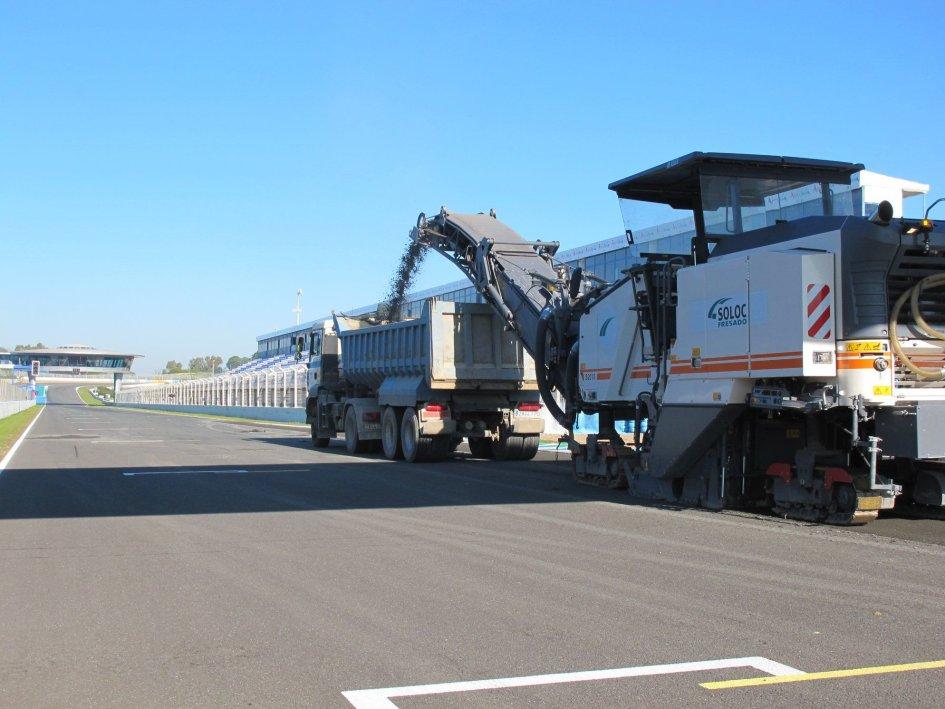 MotoGP: Jerez: al via i lavori per il nuovo asfalto