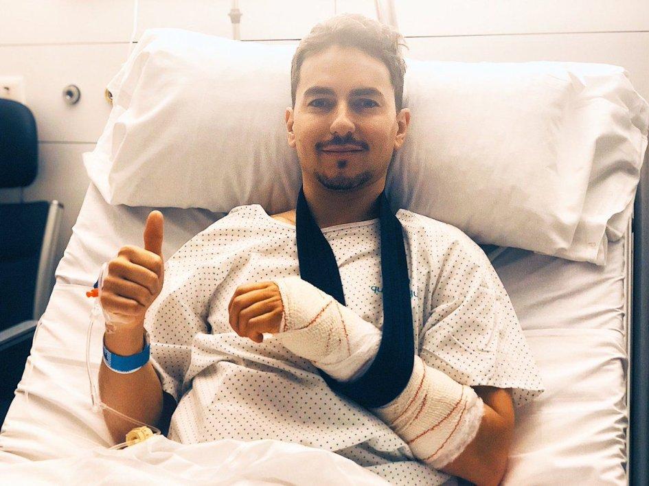 MotoGP: Jorge Lorenzo operato: salterà i test di Sepang