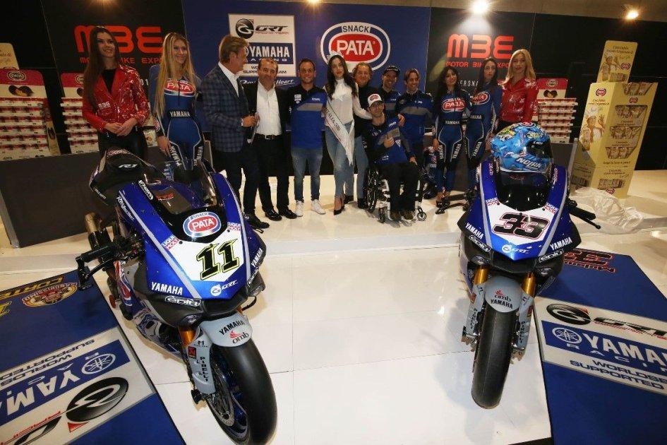 SBK: Yamaha GRT: l'assalto Mondiale parte dal Motor Bike Expo di Verona