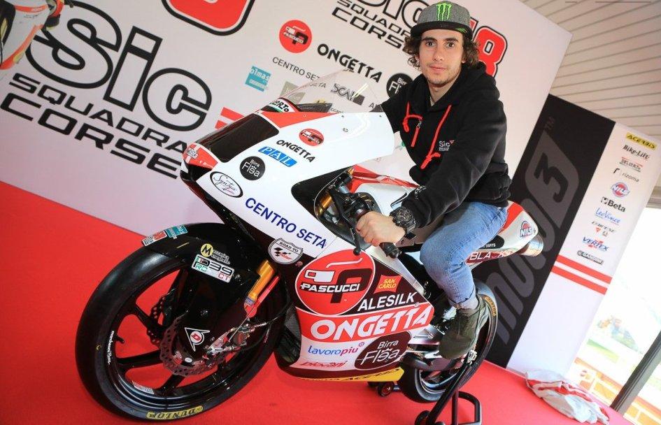 """Moto3: Antonelli: """"Io tra i favoriti? No, ma posso essere un outsider"""""""