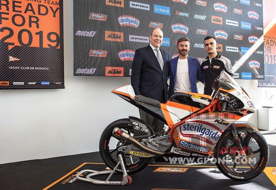 Moto3: Max Biaggi, una squadra 'principesca' con Aron Canet