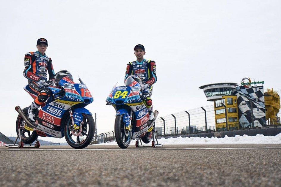 Moto3: Svelate al Sachsenring le KTM del team Prustel