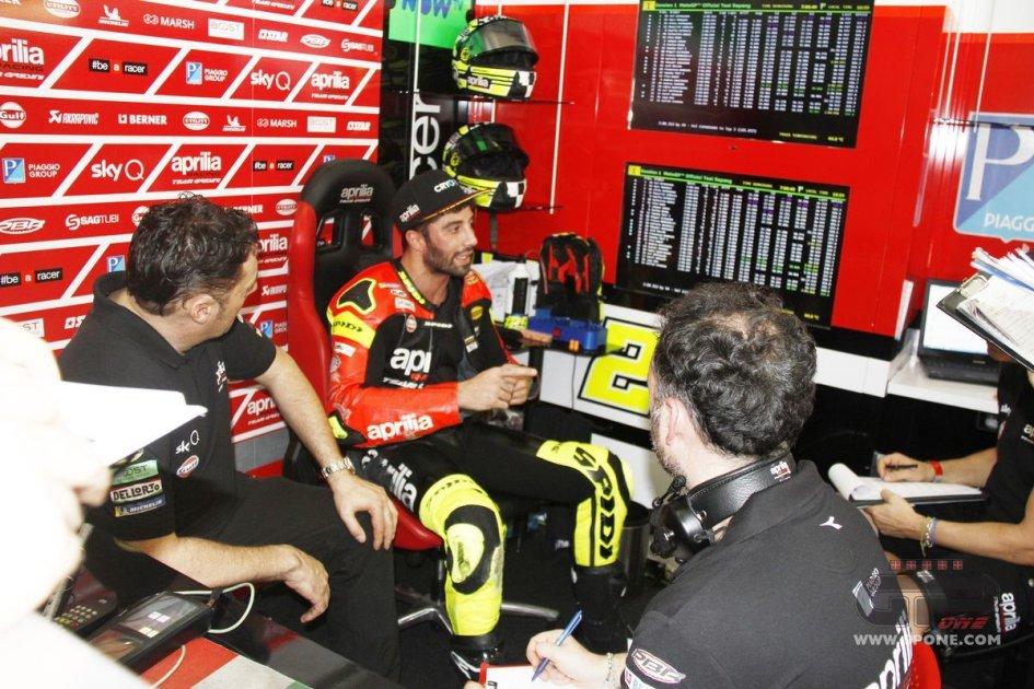 "MotoGP: Iannone: ""L'Aprilia mi ricorda la Ducati, ha potenziale"""