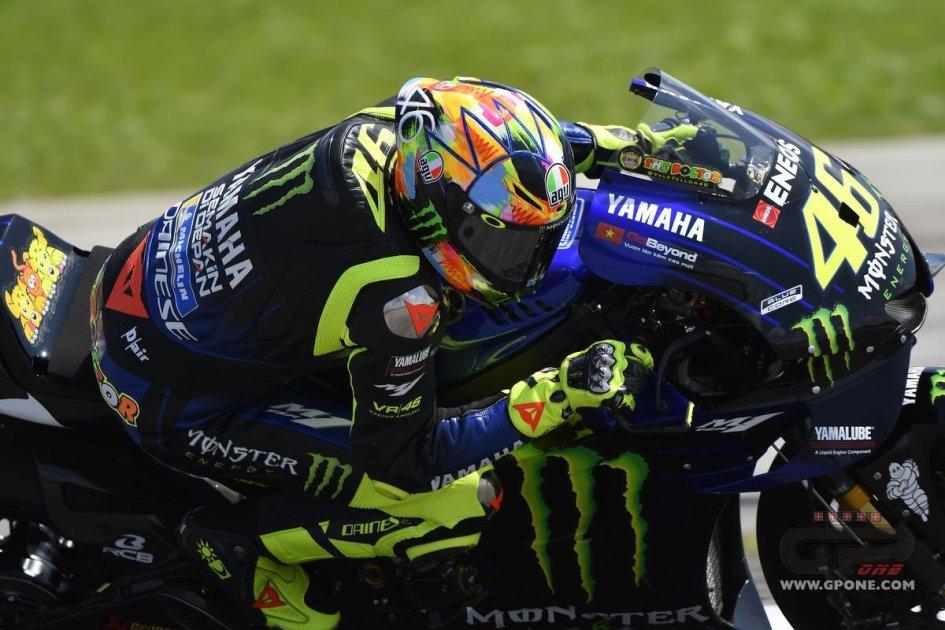"""MotoGP: Rossi: """"finalmente andiamo tutti nella stessa direzione"""""""