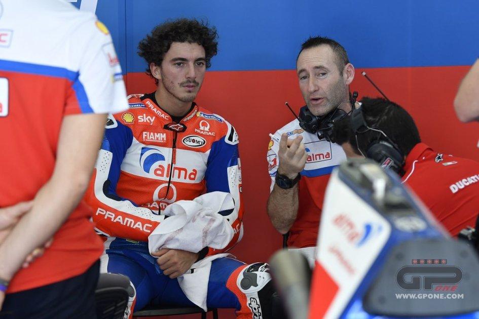 """MotoGP: Bagnaia: """"Sorpreso dalla Ducati, siamo sulla giusta strada"""""""