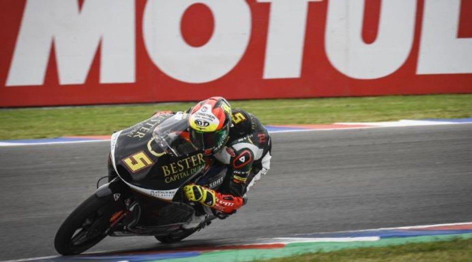 Moto3: Masia firma la prima vittoria in Argentina, 3° Arbolino