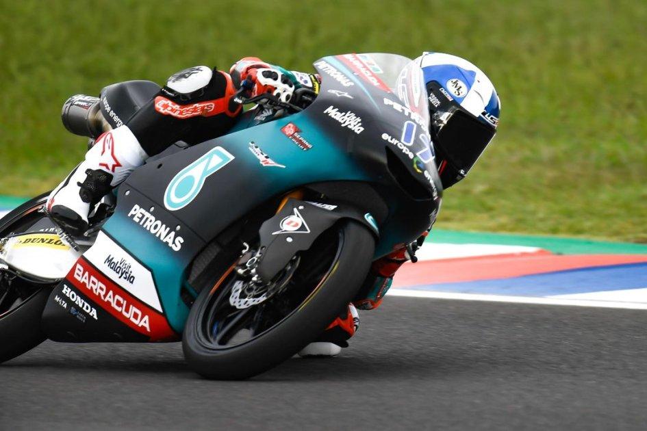 Moto3: WUP: McPhee è 1°, il poleman Masia si scontra con Garcia