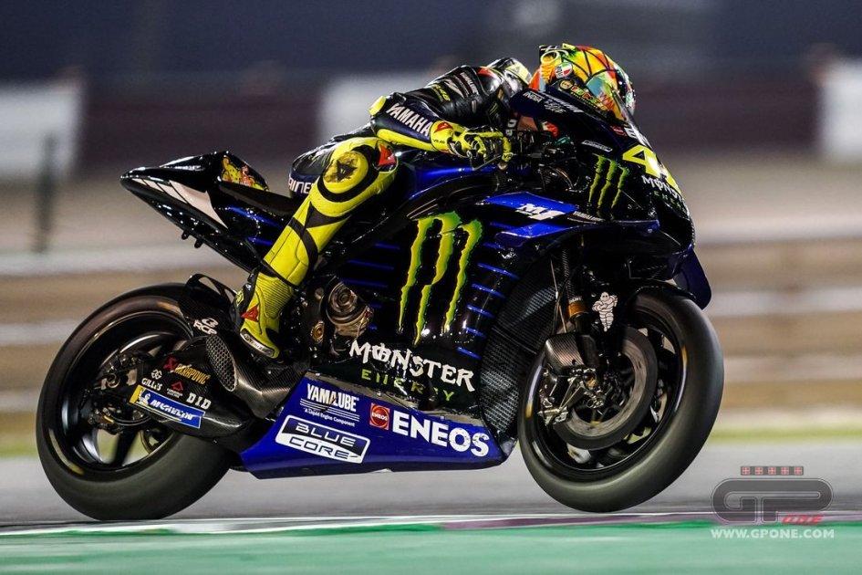 MotoGP: FP1: Rossi ferma il Dream Team, è 1° in Qatar