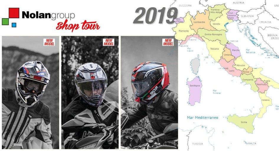 News Prodotto: Nolangroup Shop Tour: 14 tappe con le novità 2019