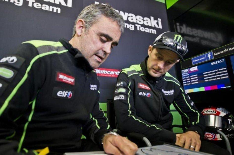 """SBK: Pere Riba: """"La Kawasaki non è diventata una moto vecchia nel giro di una settimana"""""""