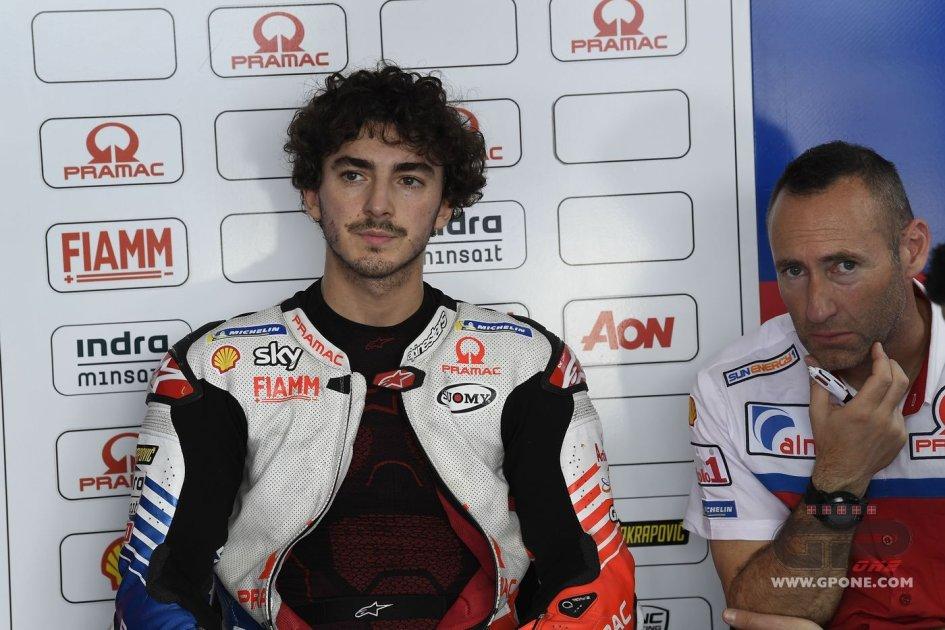 MotoGP: Bagnaia: è la mia miglior qualifica, ma due cadute non ci volevano