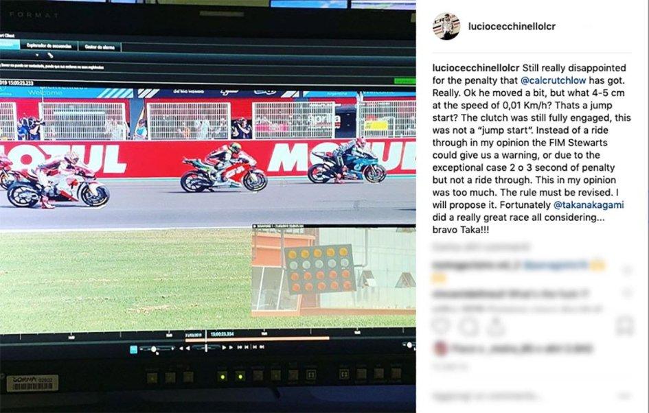 """MotoGP: Cecchinello non ci sta: """"Questa sarebbe una falsa partenza?"""""""