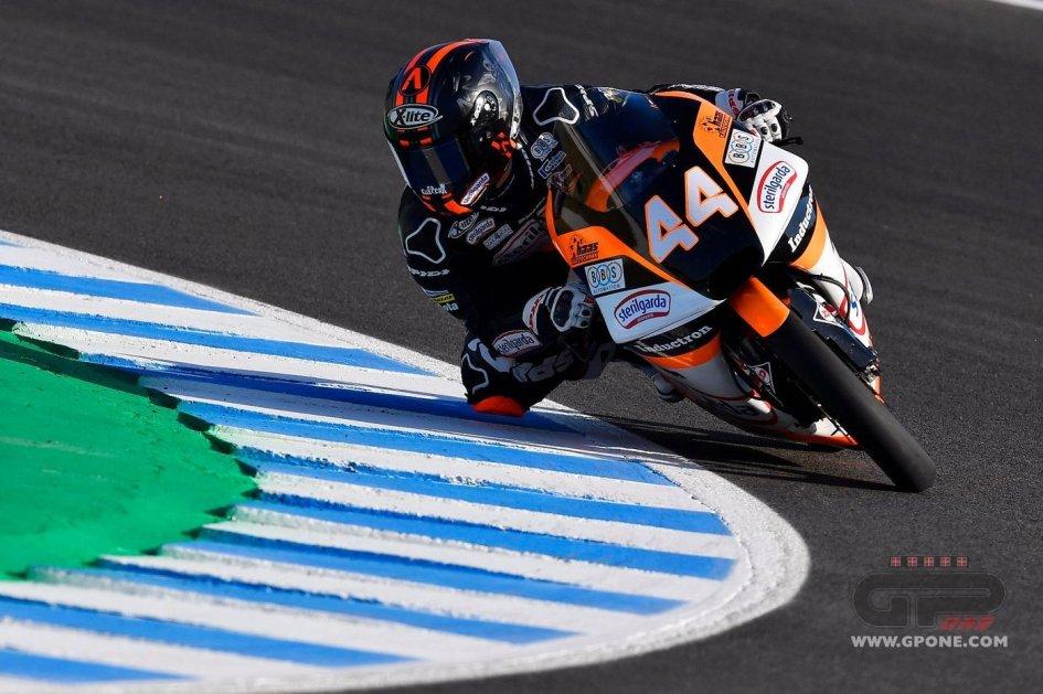 """Moto3: Biaggi: """"essere in testa al mondiale è una responsabilità, Canet lo sa"""""""