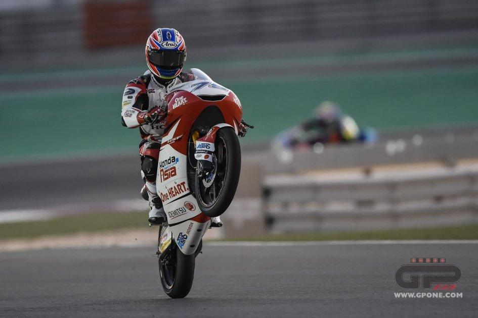 Moto3: FP2: Ogura il migliore, Antonelli in scia