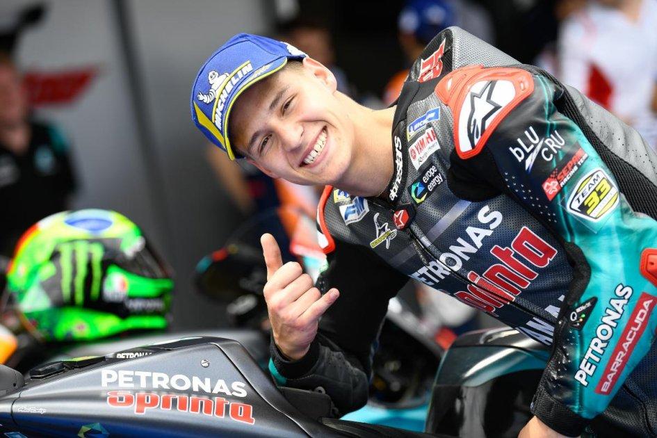 """MotoGP: Quartararo: """"Tutti sognano di essere Marquez. Lavoro per questo"""""""