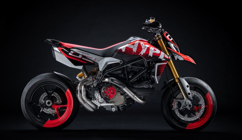 News Prodotto: A Villa d'Este una Ducati Hypermotard cattivissima e... unica