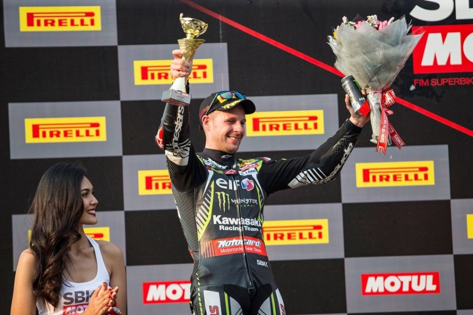 SBK: With Imola's victory Rea equals Haga's longevity record