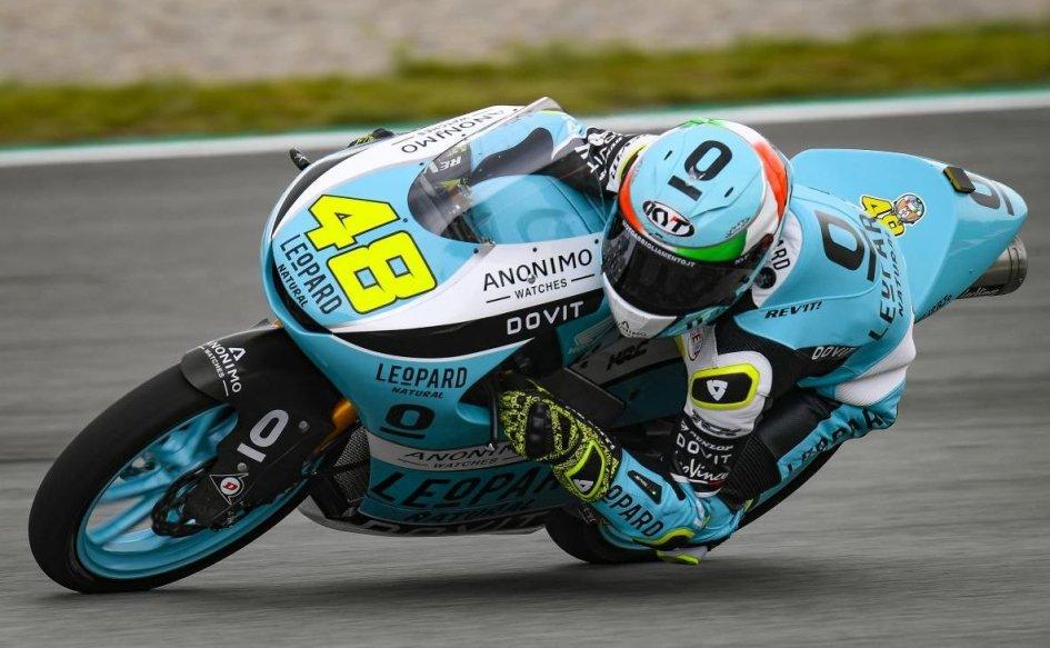 Moto3: FP2: Dalla Porta rimedia alla brutta mattinata, è 1°