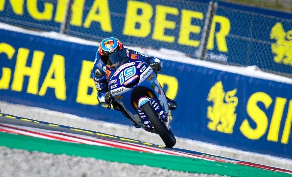 Moto3: A Barcellona Rodirigo è in pole, 3° Arbolino