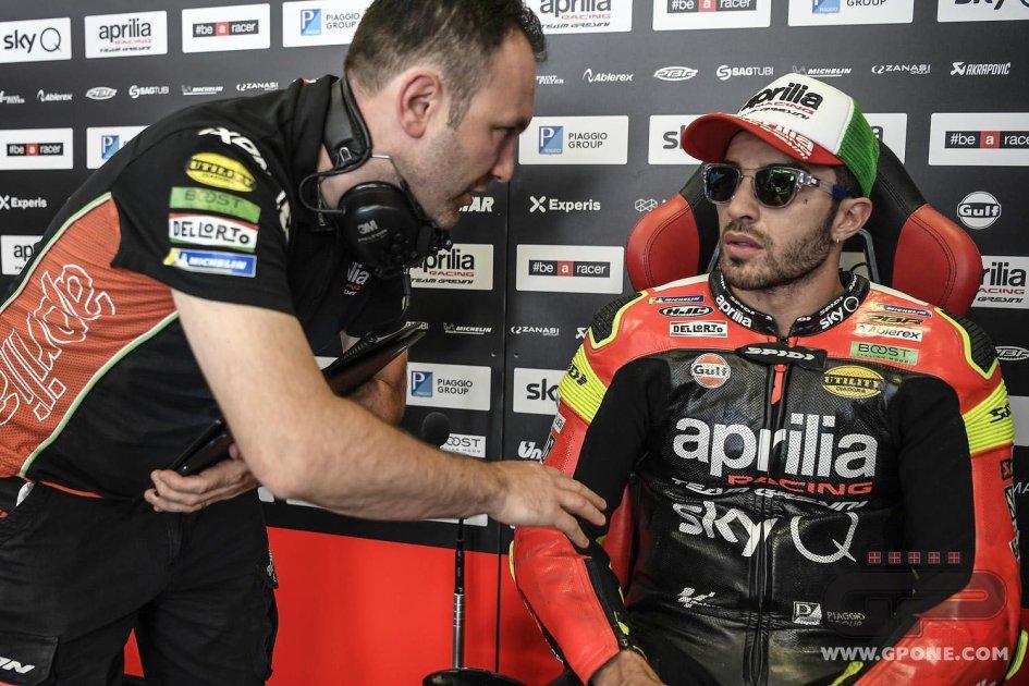 """MotoGP: Iannone: """"Peccato, si è spenta. Per la prima volta non andava male"""""""